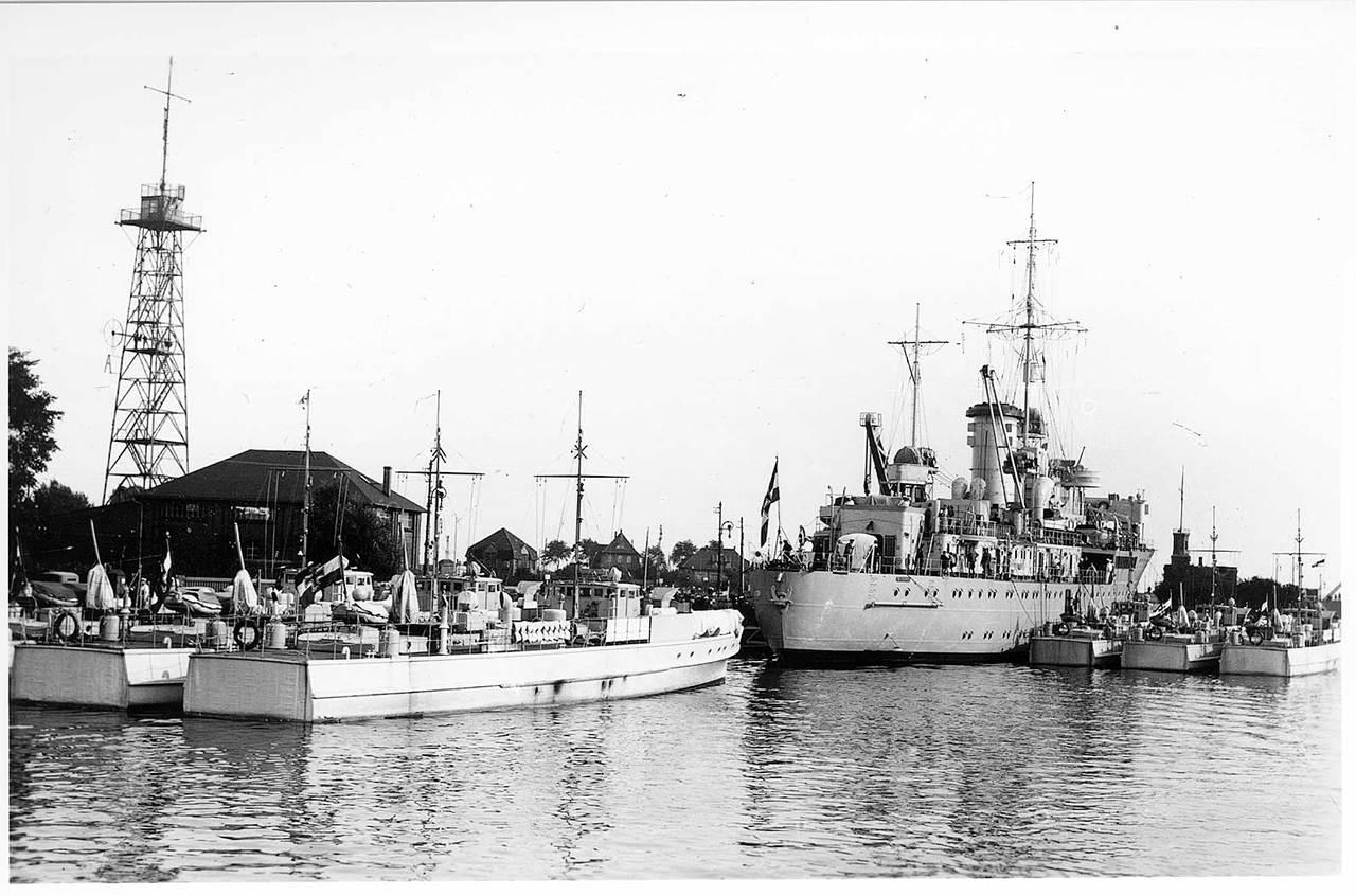 Schnellboote Série S7-S13 de la Reichsmarine 1:250 Tsinflotilleachterlicylk3m
