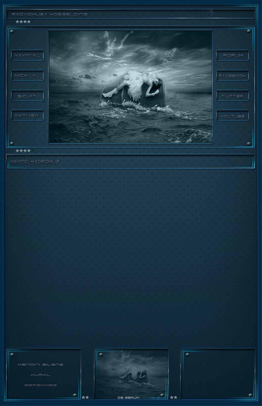 Turkuaz deniz manzara index