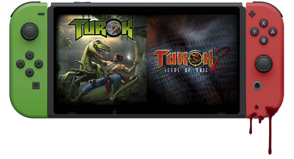 Turok: Dinosaur Hunter & Turok 2: Seeds of Evil HD on