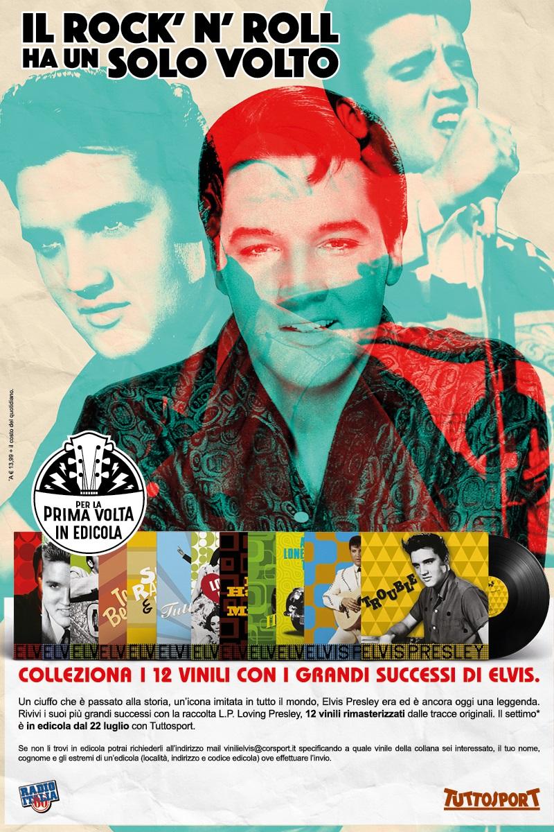 vinyl - ELvis in Italien gesichtet - Neue Vinyl Reihe erschienen Tuttosport2017n4ozy
