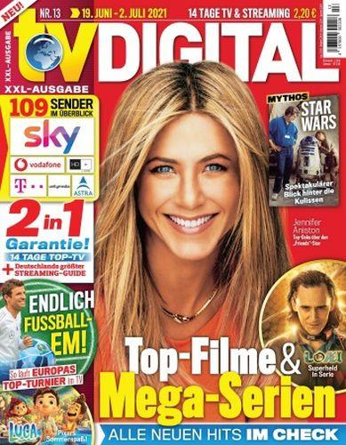 Cover: Tv Digital Xxl Fernsehzeitschrift No 13 vom 19  Juni 2021