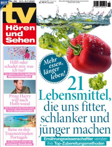 Cover: Tv Hören und Sehen Magazin No 26 vom 25  Juni 2021