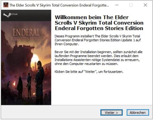 The Elder Scrolls V Skyrim Total Conversion Enderal Forgotten