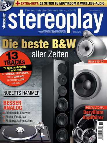 Stereoplay Magazin November No 11 2016