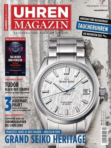 Cover: Uhren Magazin No 04 Juli-August 2021