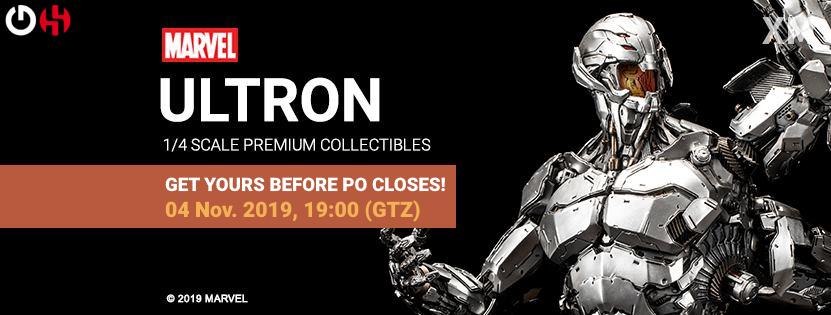 Premium Collectibles : Ultron Ultronpobannerfinalo2kdb