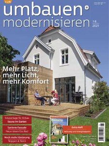 Cover: Umbauen und Modernisieren Magazin No 78 2021