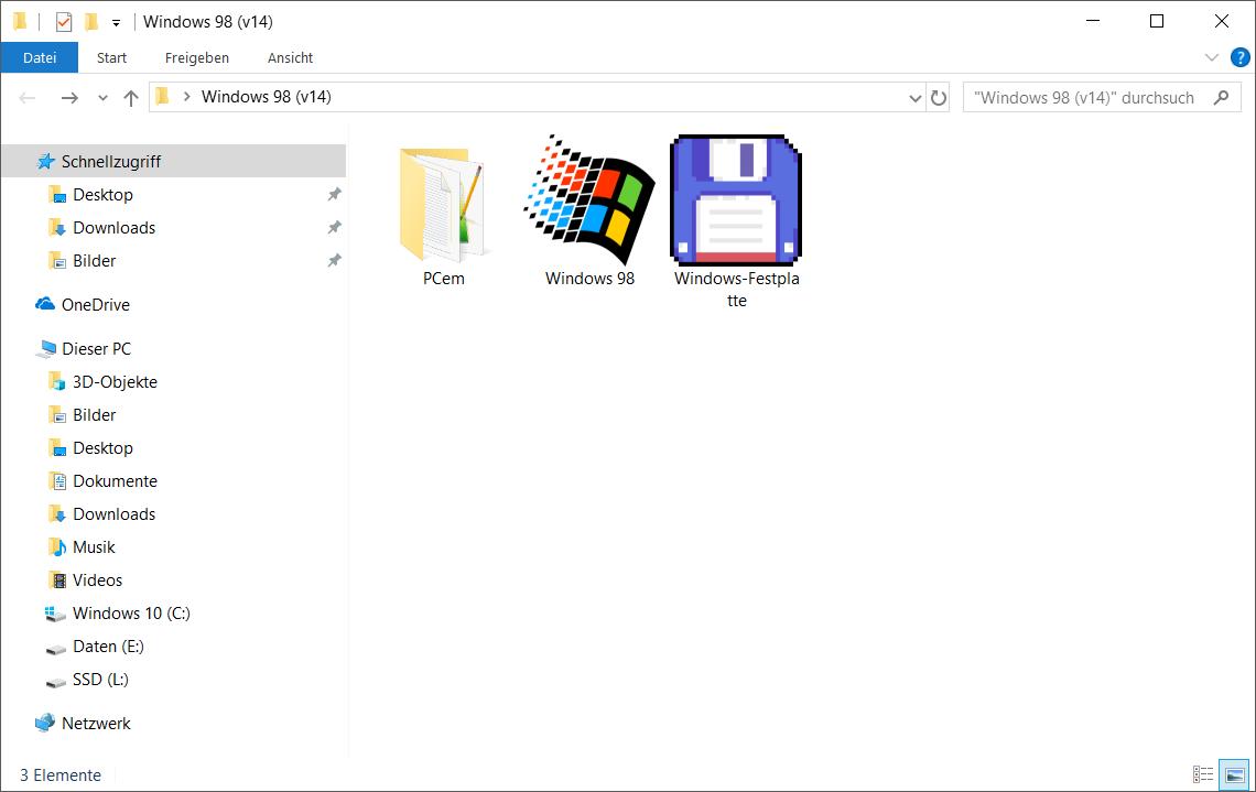 PCem] MS-DOS-Emulator (v15) - Druckversion