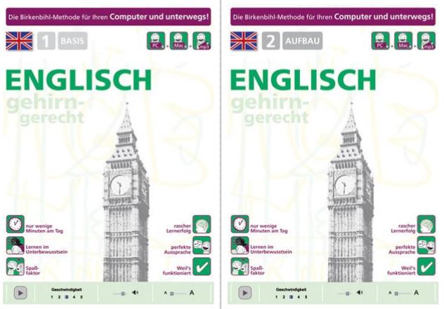 : Birkenbihl Sprachen: Englisch gehirn-gerecht, 1 Basis + 2 Aufbau
