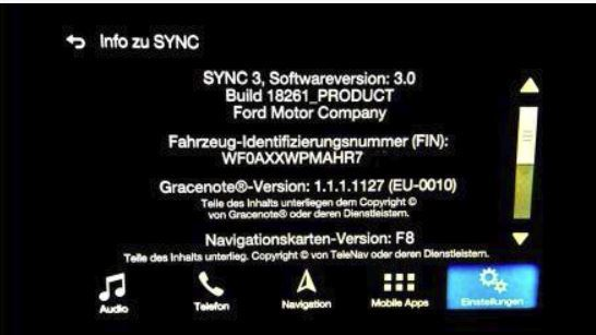 Ford Sync 3 F8 MAPS 2019/2020 - TORRENT