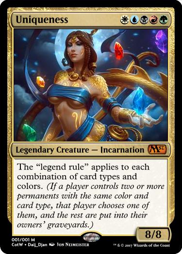 Card of the Week Contest #190: The homunculus, the myth, the