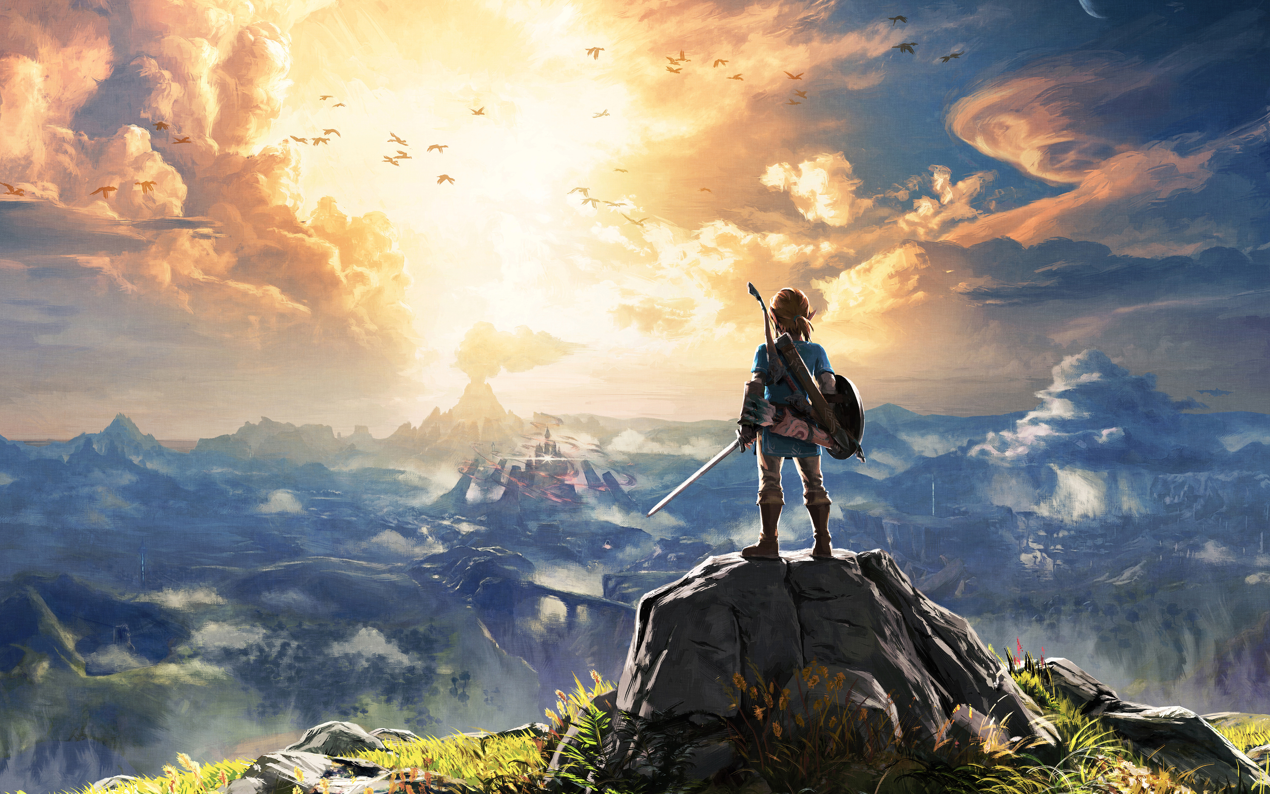 Breath Of The Wild Desktop: Nintendo Releases Accolades Trailer For Breath Of The Wild