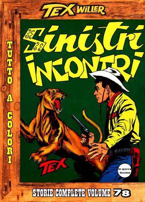 Tex Willer - Storie complete N.78 - Sinistri incontri (2013)