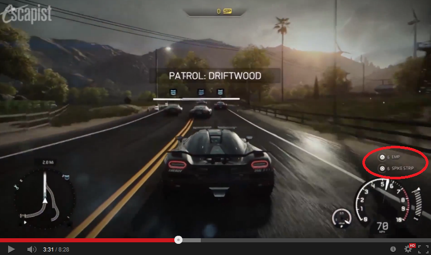 Escapist's NFS:Rivals Xbox One Gameplay video actually shows PS4