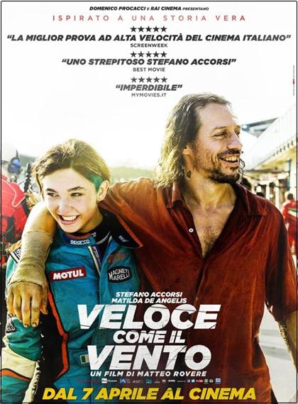 Büyük Yarış - Italian Race - Veloce come il vento | 2016 | BRRip XviD | Türkçe Dublaj | Film İndir