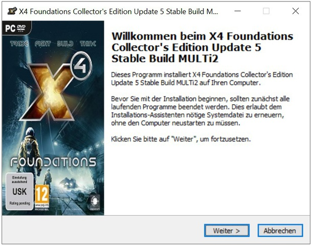 X4 Foundations Collector's Edition Update 5 Stable Build