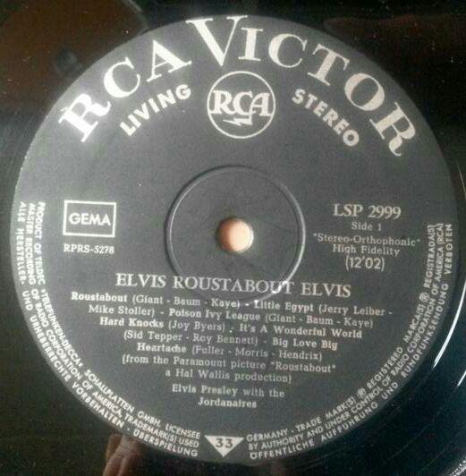 RCA LP-Label-Spiegel der Bundesrepublik Deutschland V3livingstereokjsn0