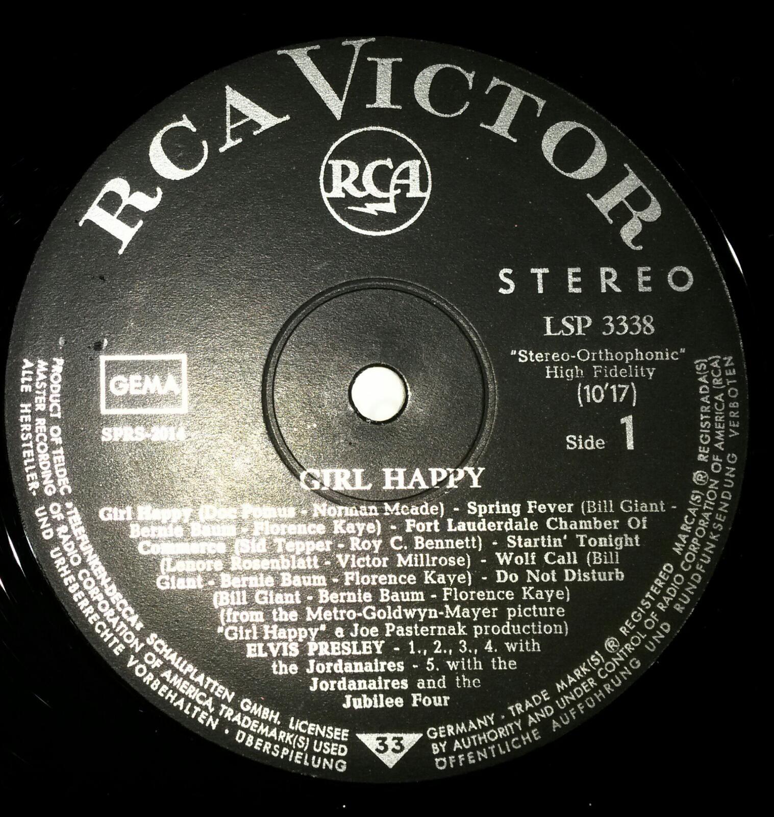 RCA LP-Label-Spiegel der Bundesrepublik Deutschland V3lljvm