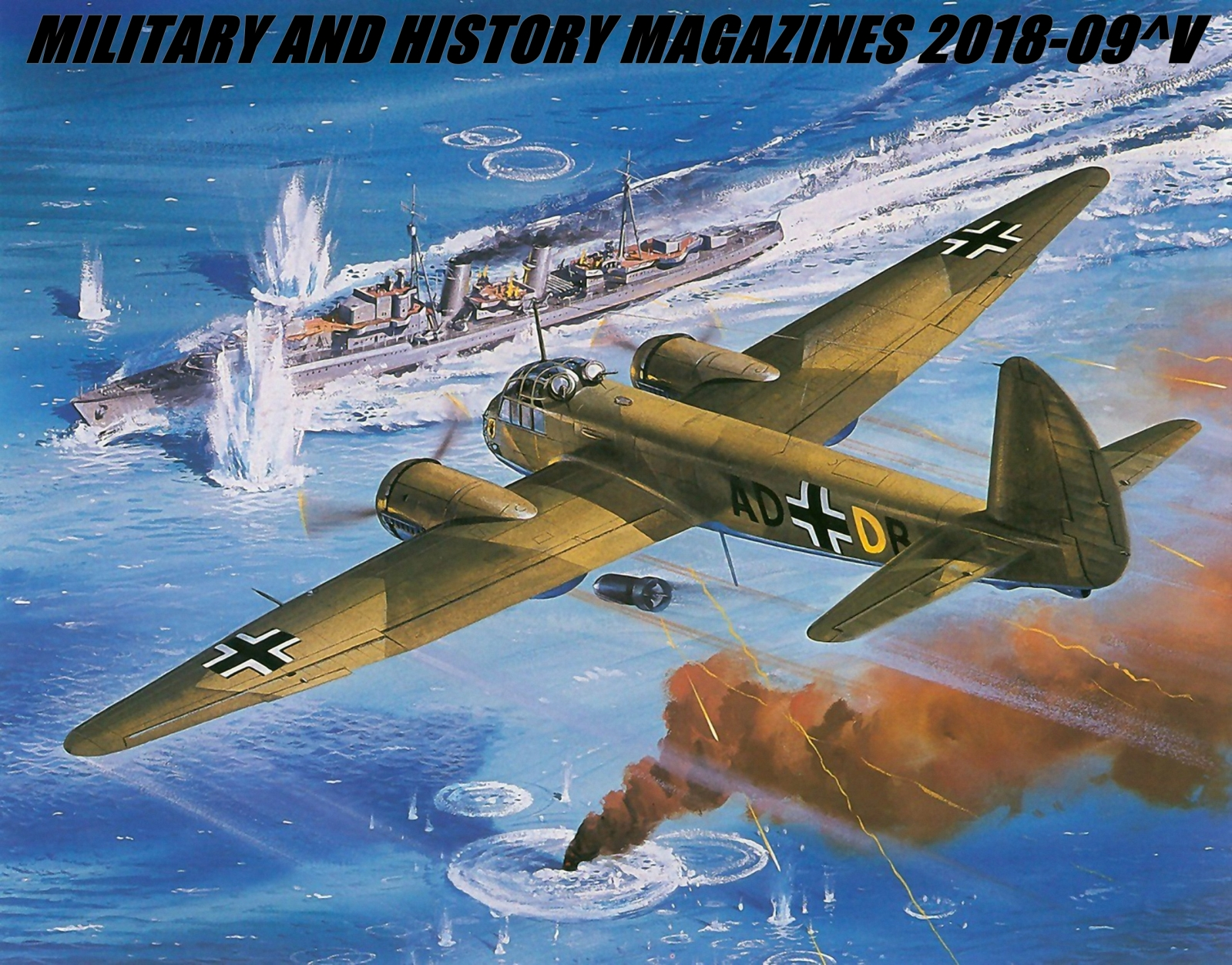 Military and History Magazines 2018-09
