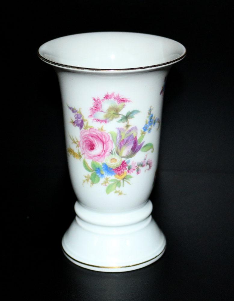 alte antike rosenthal vase blumenvase porzellan blumen streublumen. Black Bedroom Furniture Sets. Home Design Ideas