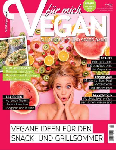 Cover: Vegan für mich Magazin No 04 2021