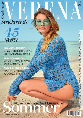Cover: Verena Stricken Magazin No 02 2021