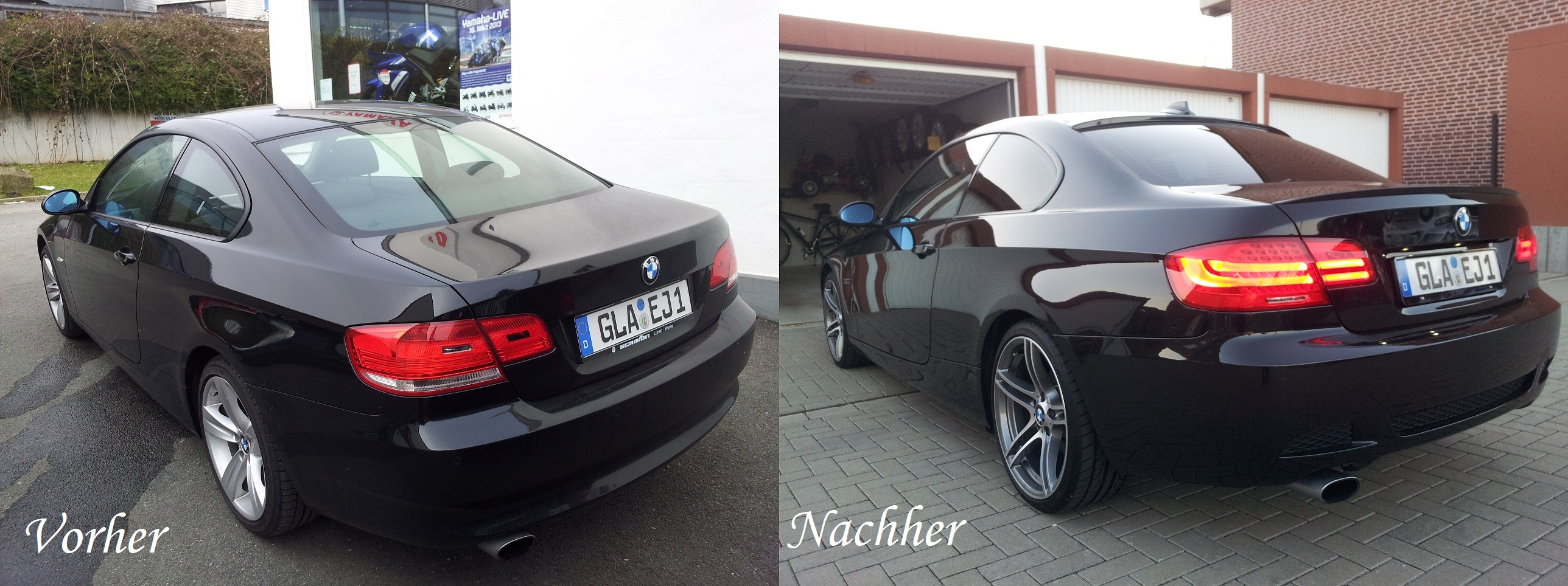 My Black Sapphir E92 With Performance Parts E92 Coupe