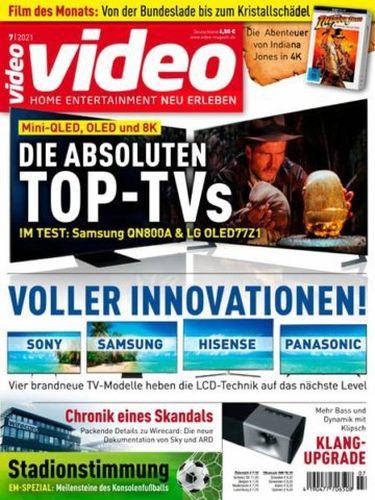 Cover: Video Homevision Magazin No 07 Juli 2021