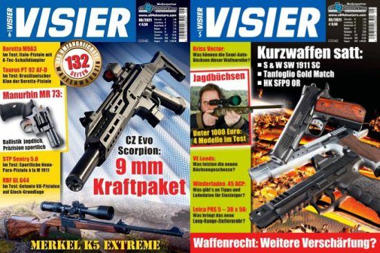 Cover: Visier Waffenmagazin No 05 + 06 Mai + Juni 2021