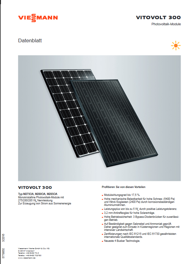 viessmann vitovolt 200 300 seite 2 photovoltaikforum. Black Bedroom Furniture Sets. Home Design Ideas