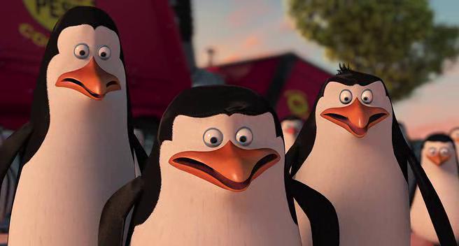 Madagaskar Penguenleri Ekran Görüntüsü 1
