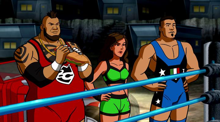 Scooby-Doo! Güreş Macerası Ekran Görüntüsü 2