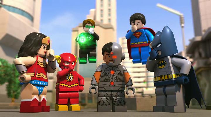 LEGO DC Justice League – Attack of the Legion of Doom! Ekran Görüntüsü 1