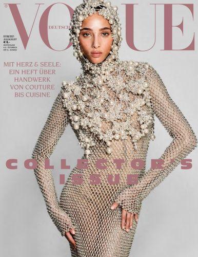 Cover: Vogue Frauenmagazin No 07-08 Juli-August 2021