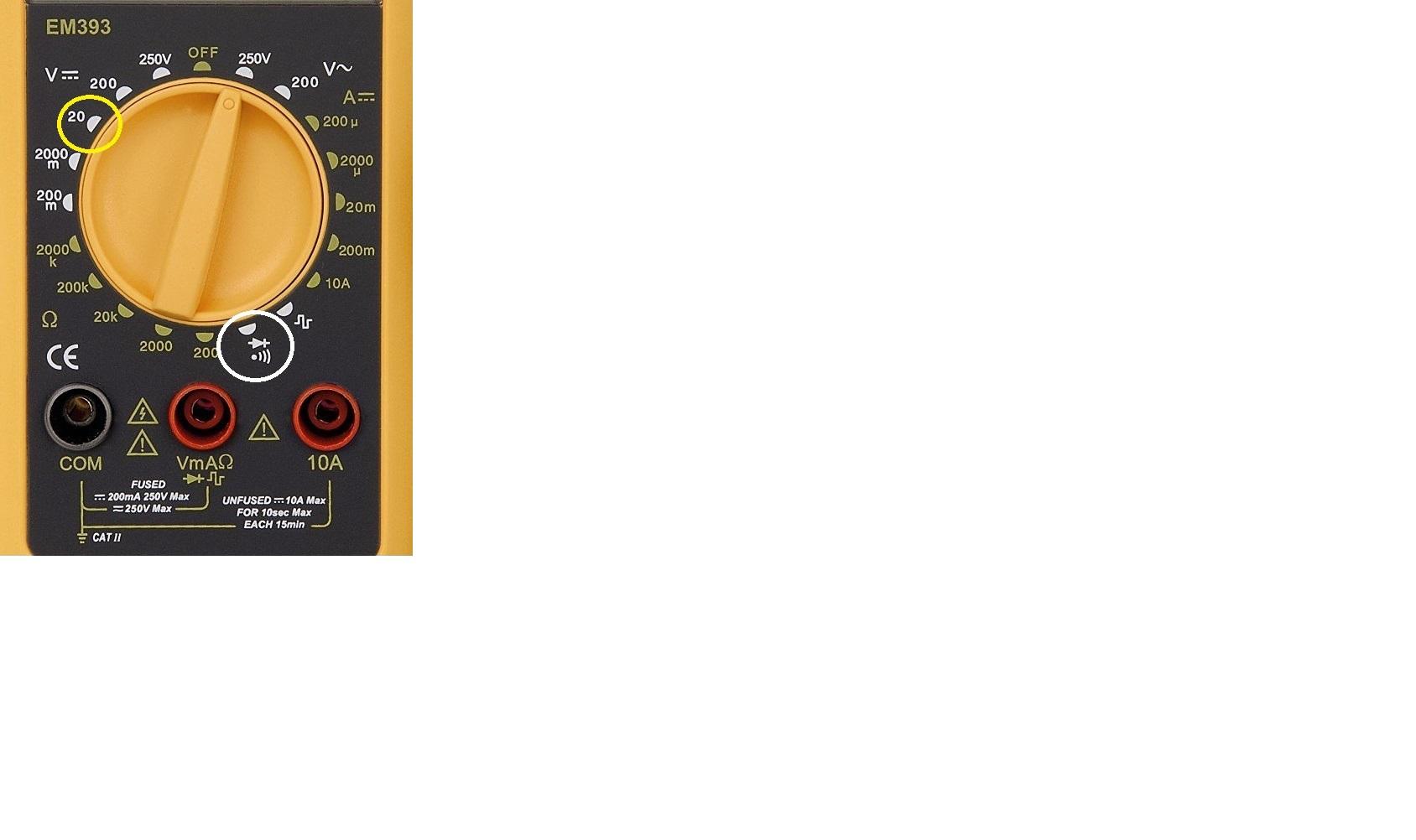 Instandsetzung und Neuaufbau CX500C - Seite 3 Voltmeter0030pusl