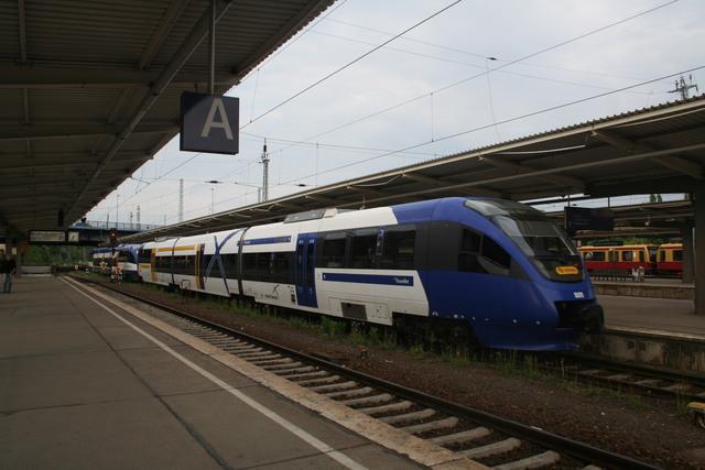 VT 009 + VT 002 Ausfahrt Berlin-Lichtenberg