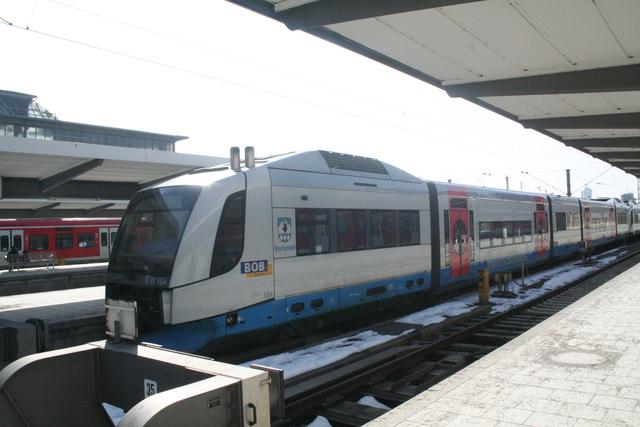 VT 104 Bayrischzell München Hbf