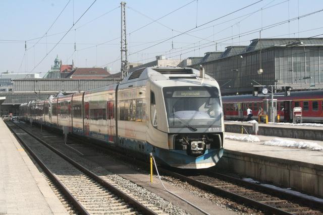 VT 117 München Hbf