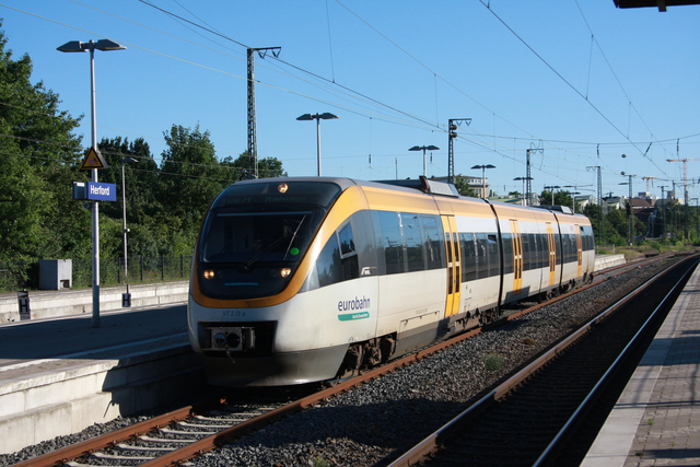 VT 3.13643 374-1 ERB6771 Einfahrt Herford