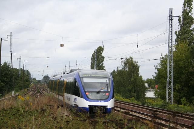 VT 732 Ausfahrt Berlin-Karow