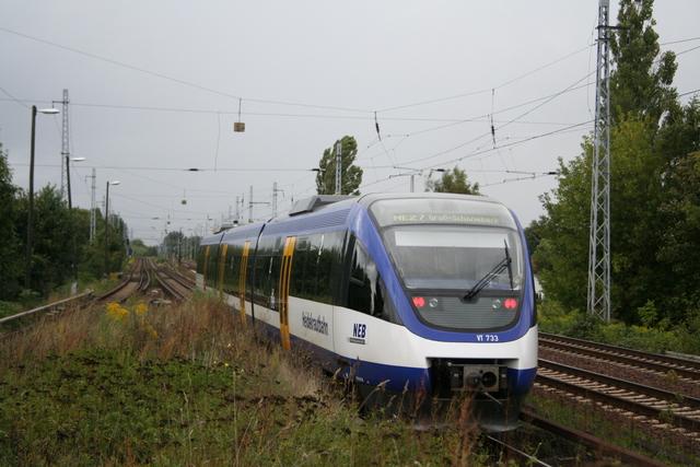 VT 733 Ausfahrt Berlin-Karow