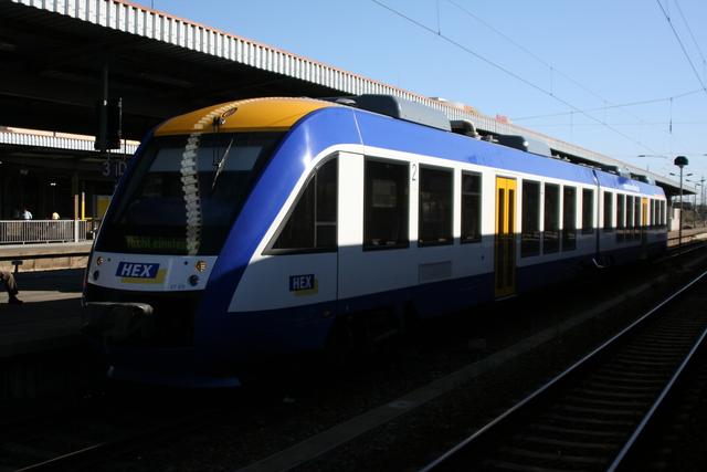 VT 811 Magdeburg Hbf