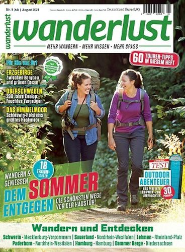 Cover: Wanderlust Magazine No 05 Juli-August 2021