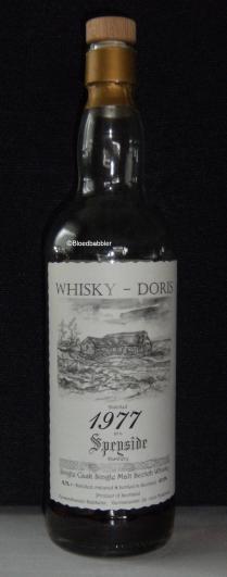 'A Speyside Distillery 1977 (WD) Flasche