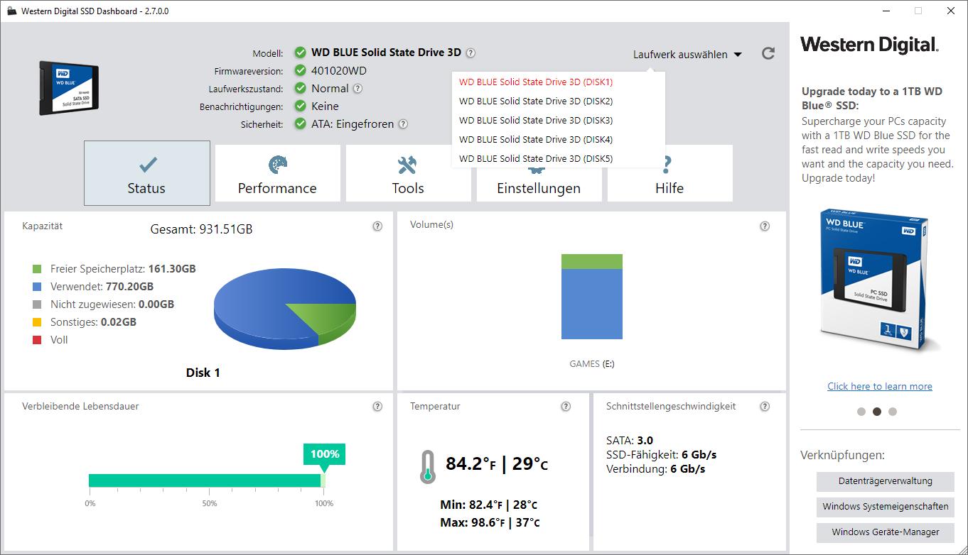 wddashboards0joq - Neue SSD für neues Betriebssystem