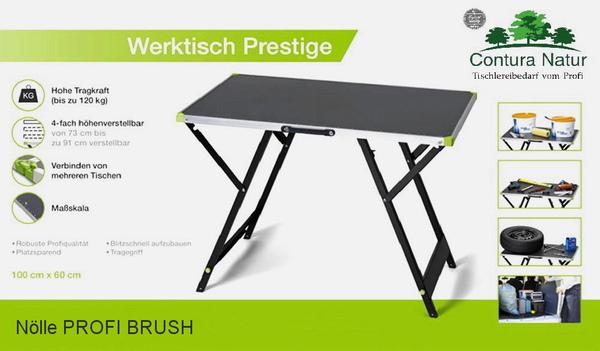 profi klappwerkbank werktisch arbeitstisch 100x60 cm klappbar mobil werkbank ebay. Black Bedroom Furniture Sets. Home Design Ideas