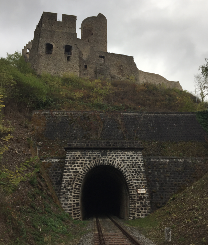 railway tunnel entrance