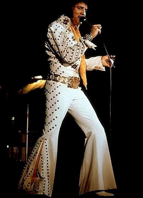 08 - White Pyramid Jumpsuit - Rex Martin s ELVIS Moments in Time 8aeaa22b8
