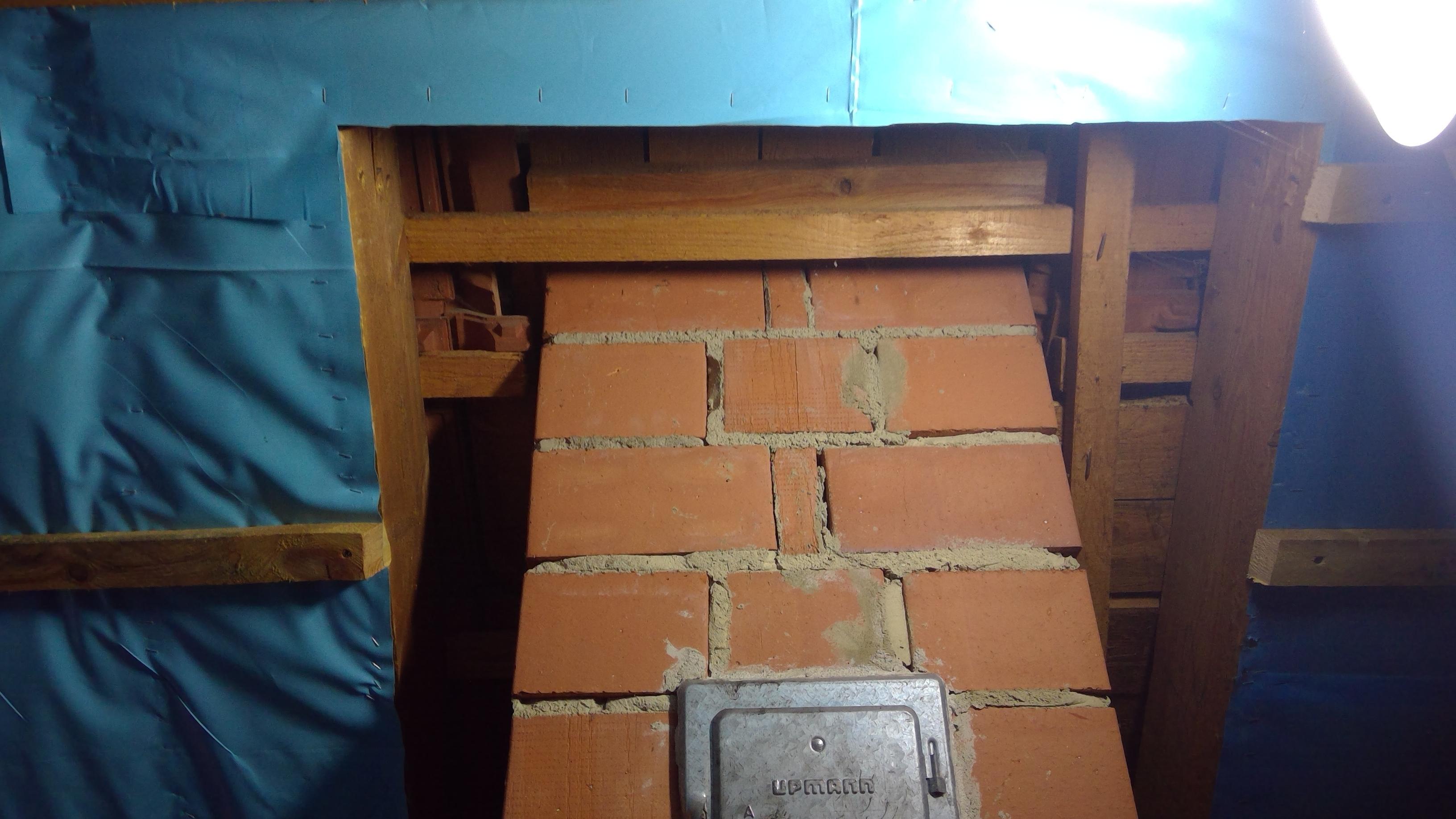 Verkleidung Dachboden Giebel Und Schornstein Bj95 Haustechnikdialog
