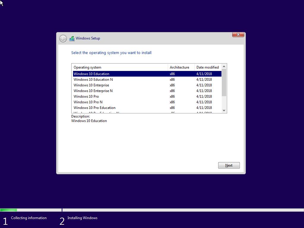 Windows 10 Redstone 4 - İngilizce (English) MSDN Final - Tüm Sürümler Tek Link